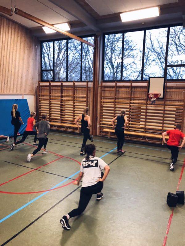 Bootcamps Domarringens idrottshall