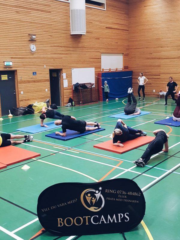 Gruppträning Ekuddens idrottshall