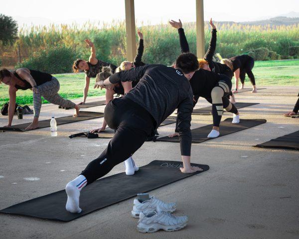 Stretching träningsresa Bootcamps